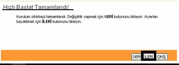 'TP-LINK TD-8817' Modem Kurulumu_7
