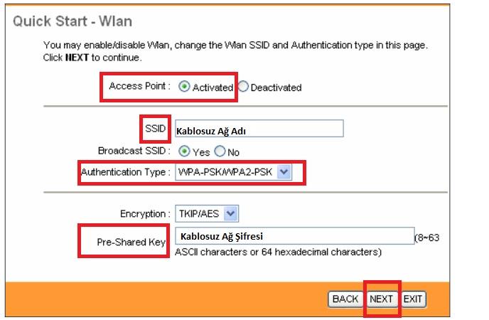 'TP-LINK TD-W8901N' Modem Kurulumu ve Kablosuz Ayarlar_6