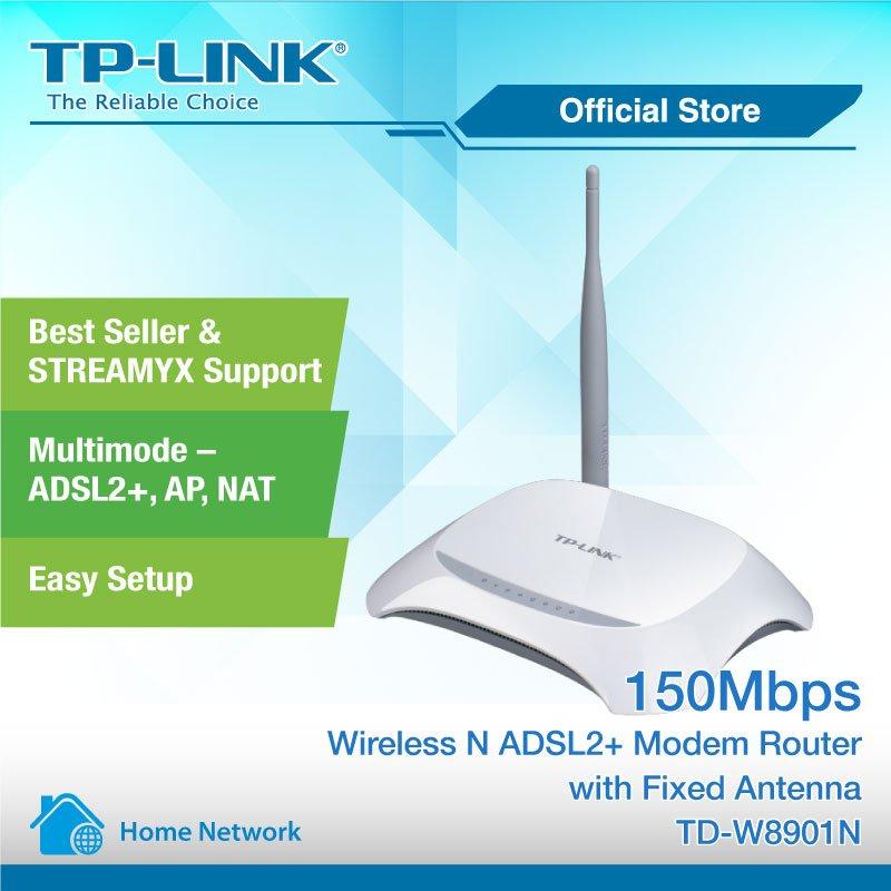 'TP-LINK TD-W8901N' Modem Kurulumu ve Kablosuz Ayarlar (Resimli Anlatım)