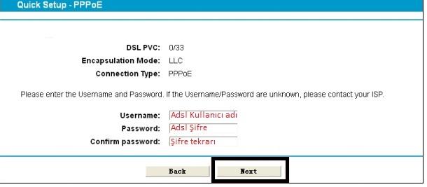 'TP-LINK TD-W8970' Modem Kurulumu ve Kablosuz Ayarlar_5