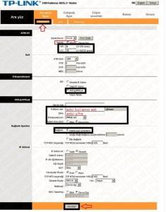 'TP-Link TD-W8101G' Modem Kurulumu ve Kablosuz Ayarlar_2
