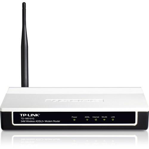 'TP-Link TD-W8101G' Modem Kurulumu ve Kablosuz Ayarlar (Resimli Anlatım)