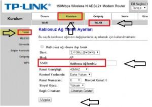 'TP-Link TD854W' Modem Kurulumu ve Kablosuz Ayarlar_4