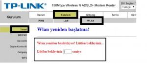 'TP-Link TD854W' Modem Kurulumu ve Kablosuz Ayarlar_5