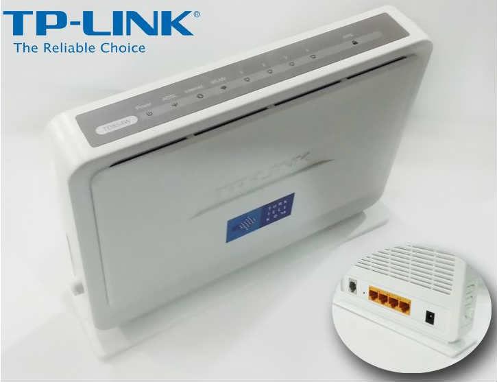 'TP-Link TD854W' Modem Kurulumu ve Kablosuz Ayarlar (Resimli Anlatım)
